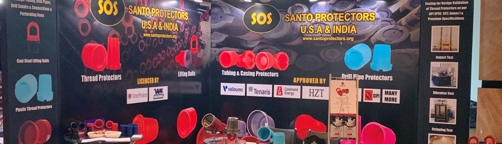 SANTO participated in SPE Oil&Gas India Conference & Exhibition 2019